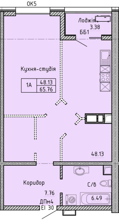 Апартаменты 1А