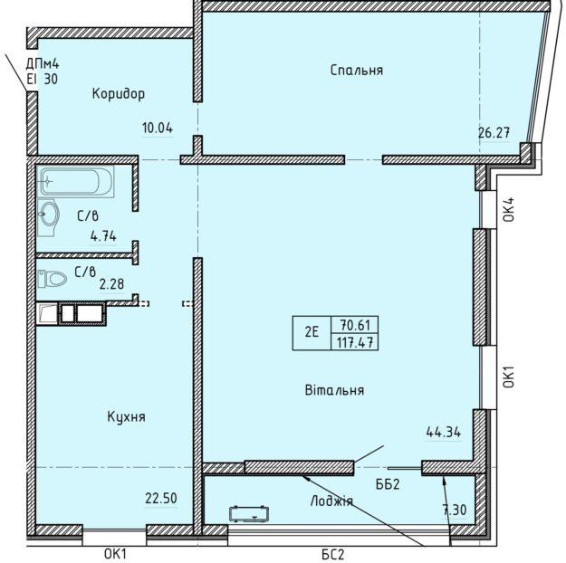 Апартаменты 2Е