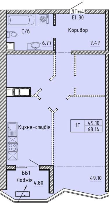 Апартаменты 1Г