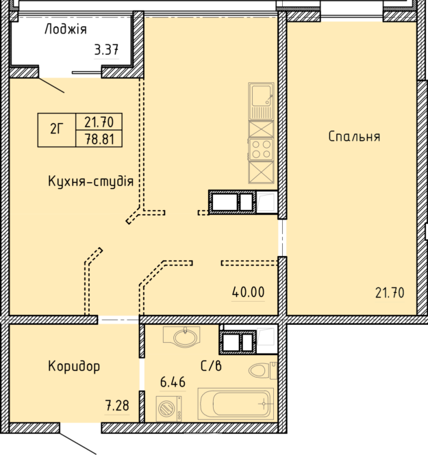 Апартаменты 2Г