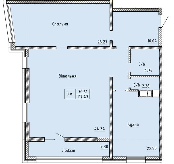 Апартаменты 2А